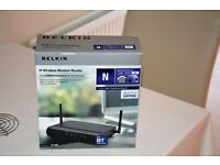 BELKIN WIRELESS MODEM ROUTER