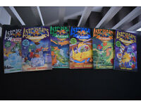 6 Astrosaurs Academy childrens books and collectors cards. May split. Good condition,smoke free. £6