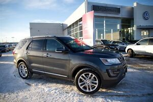 2016 Ford Explorer Limited - Heated & Cooled Seats, Navigation.