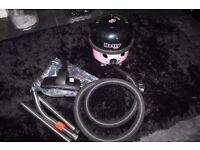 Numatic Pink Compact Hetty Hoover. Boxed - as new. Comes with all hand tools and lance/head.