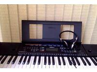 Electric YAMAHA Keyboard, 9 months old