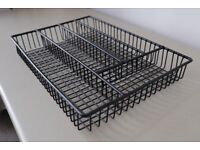 Metal wire cutlery drawer