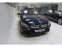MERCEDES-BENZ C CLASS 2.1 C250d Sport (Premium Plus) 5dr (start/stop) Auto (blue) 2014