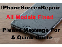 Iphone Screen Repair (All Models , Message for Quote )