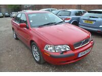 Volvo S40 1.6 S 4dr YEAR 2000 (X reg), Saloon**CAMBELT DONE + FULL S/H & RECIEPTS**