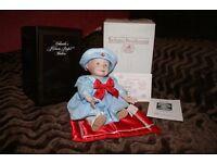 "Porcelain doll ""Amanda"" designed by Yolanda Bello produced by Ashton-Drake Galleries"