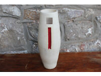 Unusual Large Handmade Vase by Diem Pottery, Ireland. Irish Studio Pottery Vintage Art Pottery