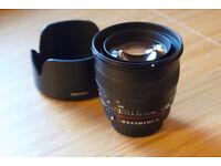 Samyang 50mm f1.4 lens AS UMC for Pentax