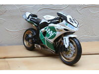 Martin Finnegan race replica race bike