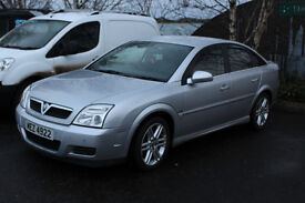 Vauxhall Vectra 2.2 SRI Diesel 2004 - Silver with Leather Interior and 1 Year MOT