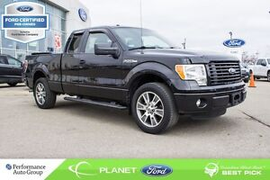 2014 Ford F-150 STX 4X2  FORD CERTIFIED LOW RATES & EXTRA WARRAN
