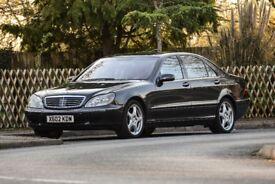 Mercedes-Benz S500 L /Fully loaded+low milage+MOT/