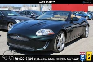 2011 Jaguar XK XKR CONVERTIBLE NAVIGATION, CLEAN CARPROOF