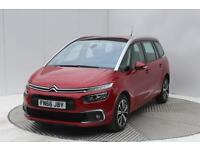 Citroen C4 Picasso GRAND BLUEHDI FEEL S/S EAT6 (red) 2016-09-27