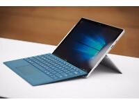 Microsoft Surface Pro 4 with Pen (Silver) and UK Keyboard (Teal) - 128GB SSD, Intel Core i5, 4GB RAM