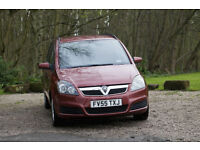 Vauxhall ZAFIRA 1.6 / LPG convertion, MOT 23 September, 7 seater.