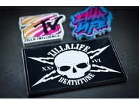 Custom printed stickers - Full Colour - Die Cut