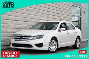 2010 Ford Fusion *HYBRID*CUIR*TOIT*BLANC*TOUTE EQUIPE*EXTRA CLEA