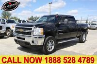 2011 Chevrolet SILVERADO 2500HD LTZ 4x4 Crew Cab Black on Black