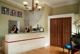 Hotel Receptionist - full time, immediate start - Clifton, Bristol