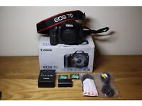 Great Condition Canon EOS 7D 18MP Digital DSLR Camera Body Only Boxed w/ Bits