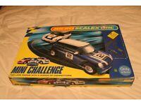MicroScalextric Mini Challenge car racing set