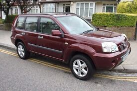 2004 Nissan X-Trail 2.0 SE ** NOISY CAMSHAFT/ENGINE ** for spares or parts