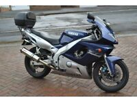 Yamaha Thundercat YZF600R 46,000 miles Blue and Silver