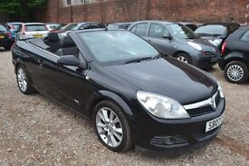 VAUXHALL ASTRA 1.8 i Design Twin Top 2dr (black) 2007
