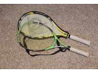 2 x Tennis Rackets / Racquets