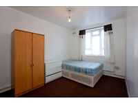 DOUBLE ROOM FOR RENT 5MIN FROM BOW TUBE STATION (15-20 MIN FROM LONDON CITY CENTER