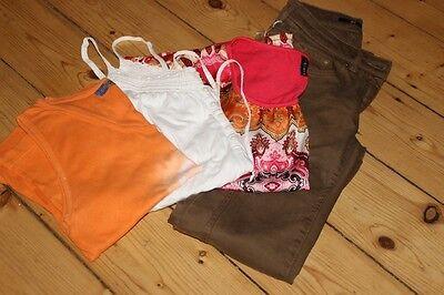 Kleiderpaket Damen Mädchen Jeans 34 Bluse T-Shirt Top Gr. S M  H&M  Amisu Batik gebraucht kaufen  Hamburg