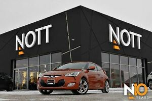 2013 Hyundai Veloster Tech, NAV, Backup Cam, Htd seats, LOADED!