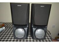 Sony SS-XB60 speakers,200 watts each speaker,8 ohms,perfect working order,very good condition.