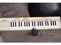 CASIO MT-35 KEYBOARD 44 KEYS/POWER ADAPTER CAN SEE WORKING