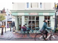 Experienced waiting staff with barista skills approx 30-40 hrs - Sugardough Brighton & Hove