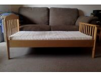 Sturdy Mamas and Papas Toddler Bed - Good Condition