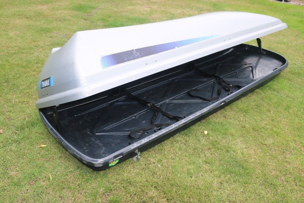 thule alpine 700 car roof top box sold in blackhall. Black Bedroom Furniture Sets. Home Design Ideas