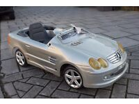 Mercedes SL 6v Electric Pedal Car *** STORED MANY YEARS *** Collectable Item ***