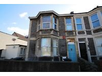 Spacious 1 bedroom ground floor flat. White goods included. Available to 2 sharers, living room used
