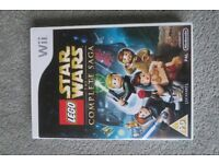 Lego Star Wars (the complete saga) Wii game