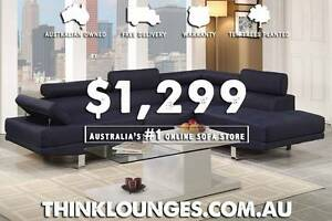 BRAND NEW HIGH QUALITY MODERN LOUNGE & SOFAS, FREE HOME DELIVERY Capital Hill South Canberra Preview