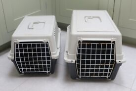 cat carrier pet box travel large small ferplast sturdy animal transport