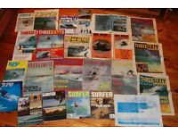 Vintage UK surf magazines, Brochures , Club Magazines, surfboards wanted