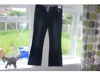 New Look Jeans size 16 Brand new