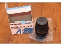 Tamron Lens 18-200 for Canon