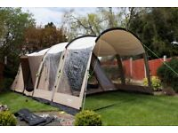 Outwell Yukon River 6 Tent and Extension