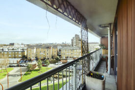 Luxury 2 bedroom flat with a balcony in Caledonia Road- All Bills included