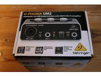 Behringer U-Phoria UM2 | USB Soundcard