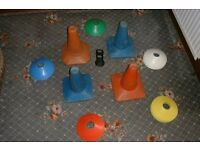 football markers/cones